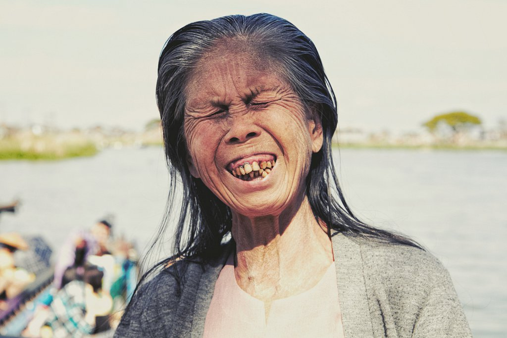 Laughter, Burma